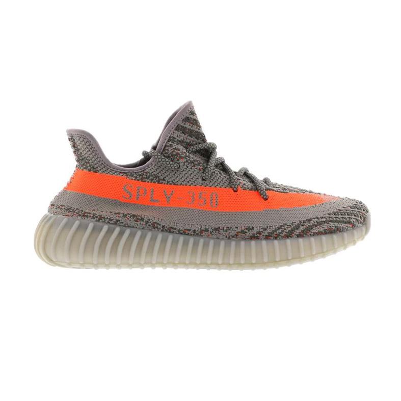 ffc4e46ed2f4a Adidas Yeezy Boost 350 V2 Beluga Gray Orange