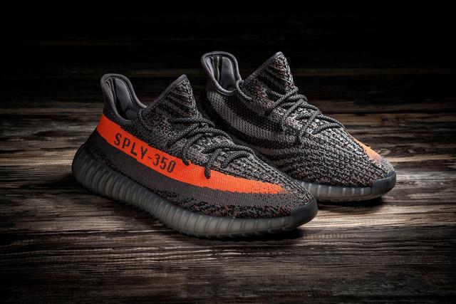 online store 891b5 ca0a5 Adidas Yeezy Boost 350 V2 Beluga Gray Orange